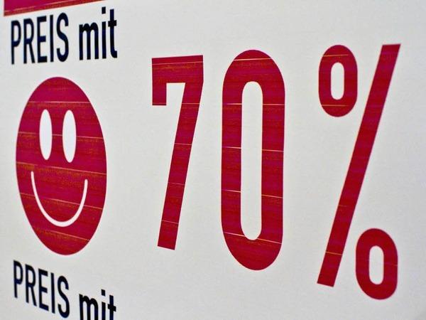 Das Kaufhaus Blum in Rheinfelden schlie�t nach 80 Jahren