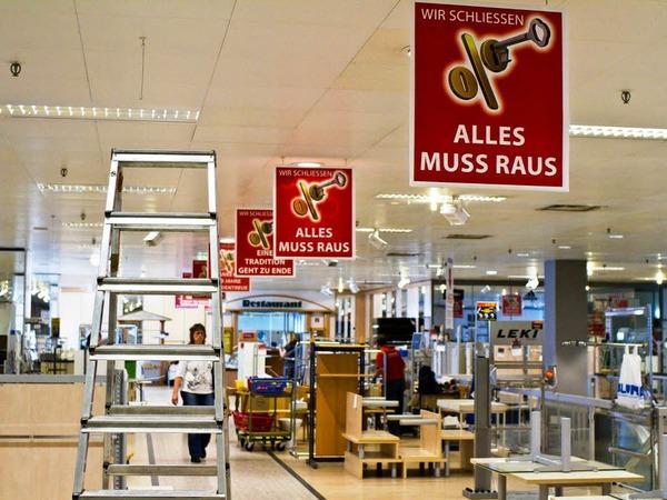 Das Kaufhaus Blum in Rheinfelden schließt nach 80 Jahren