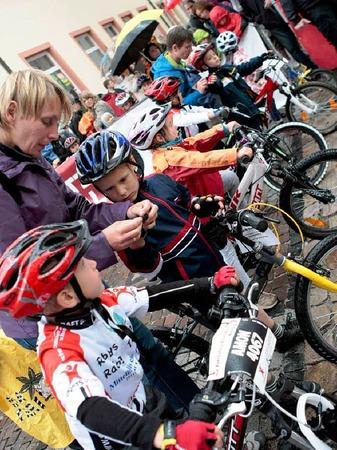 Impressionen vom Mountainbike-Marathon