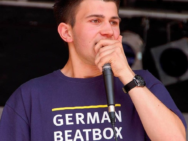 Beatbox-Boy aus Bad Krozingen