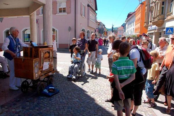 Bunt. laut, schön: Das Orgelfest ware eine nostalgische Symphonie von Tönen und Farben