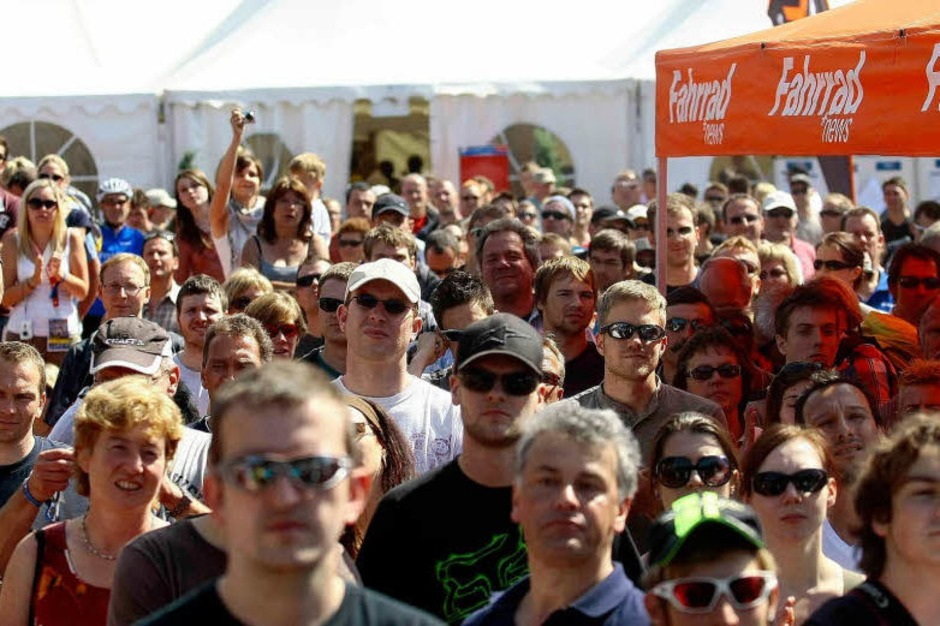 Impressionen vom Mountainbike-Weltcup. (Foto: Peter Aukthun-Görmer)