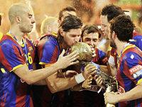 Der FC Barcelona kann's auch im Handball