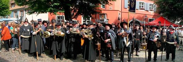 Impressionen vom europäischen Türmer- und Nachtwächtertreffen in Burkheim