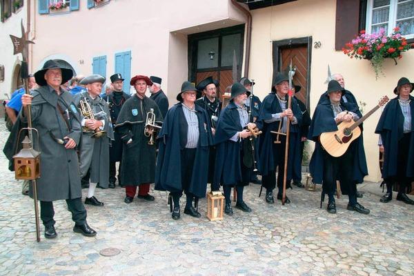 Impressionen vom europ�ischen T�rmer- und Nachtw�chtertreffen in Burkheim