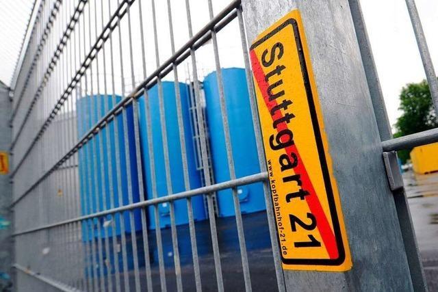 Bahn verlängert Baustopp für Stuttgart 21