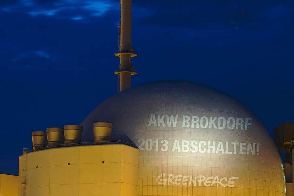Das Kernkraftwerk Brokdorf in Schleswig-Holstein (Foto: dpa)