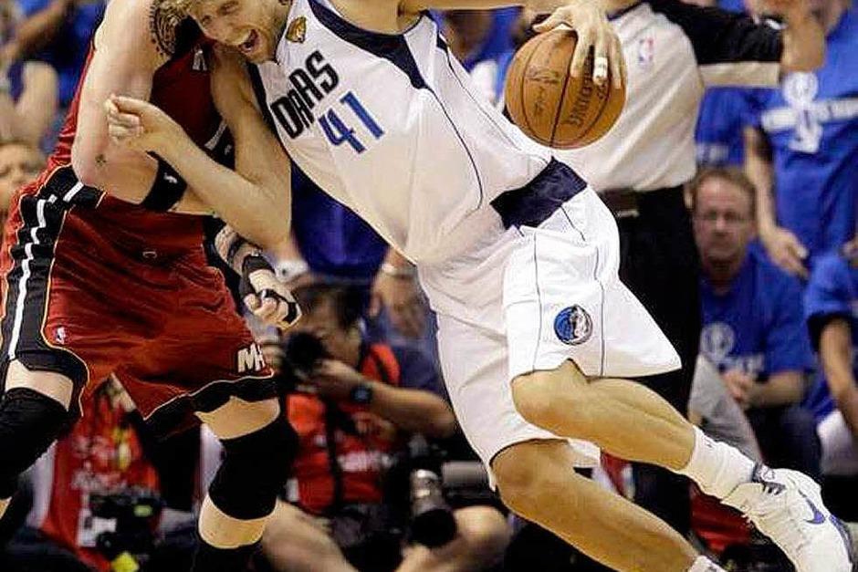 Dirk Nowitzki verhalf seinem Team zum Sieg. (Foto: dapd)