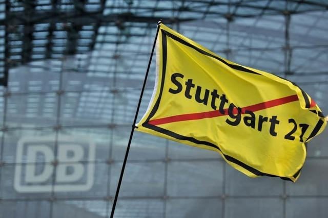 Stuttgart 21 wird zunächst weitergebaut