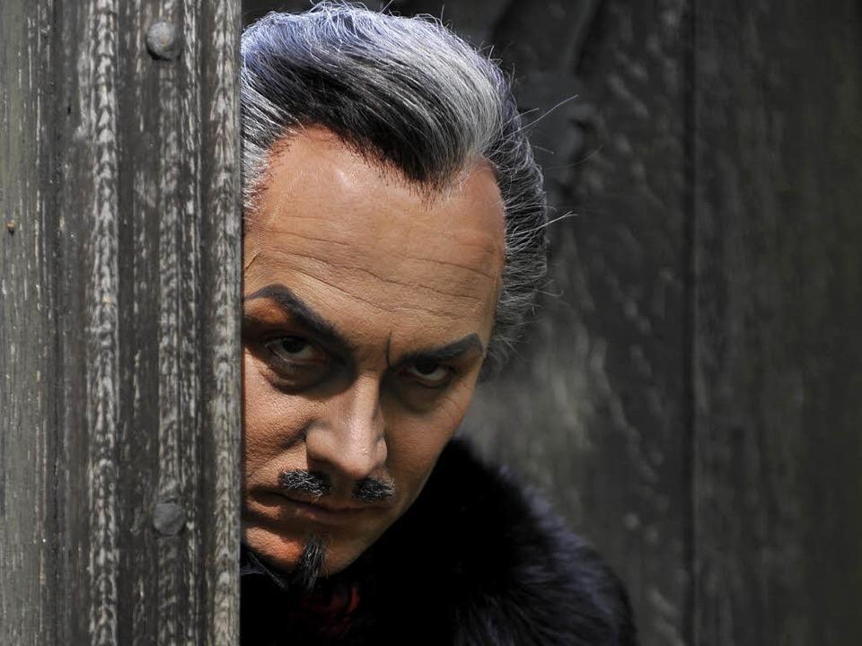Udo Lange als Graf von Monte Christo    Foto: Matthias Kolodziej