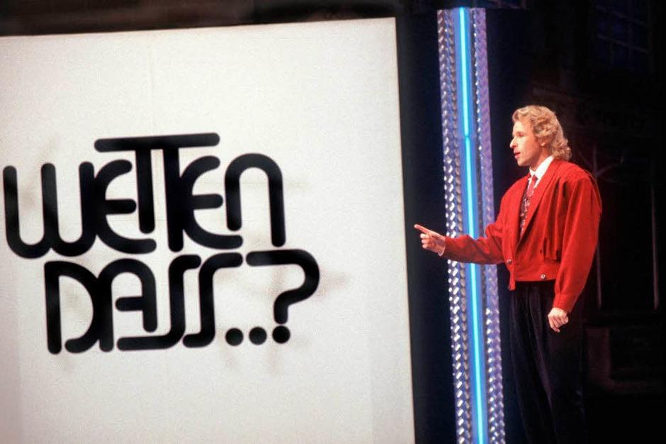 Seine erste Sendung moderierte er 1987 in Hof. (Foto: dpa)