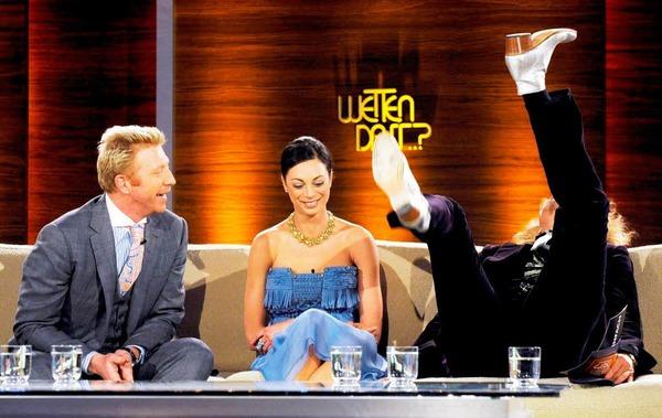 Boris Becker und Lilly Kerssenberg verkündeten in der Sendung ihre Hochzeitspläne.