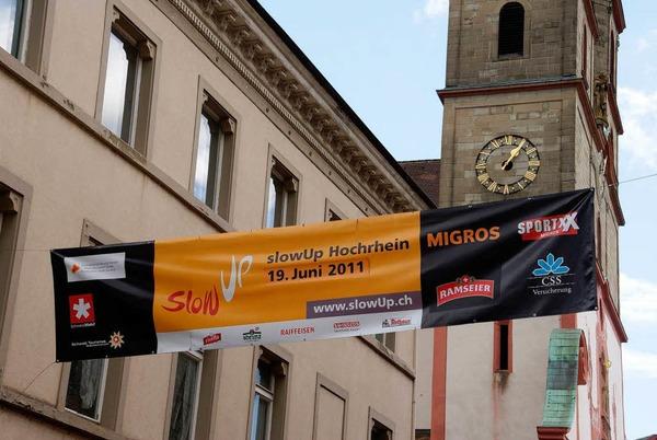 Eindr�cke vom Slow-up Hochrhein