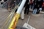 Fotos: Stuttgart-21-Gegner st�rmen Baustelle