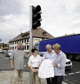 Gr�nes Licht f�r den Verkehrsfluss