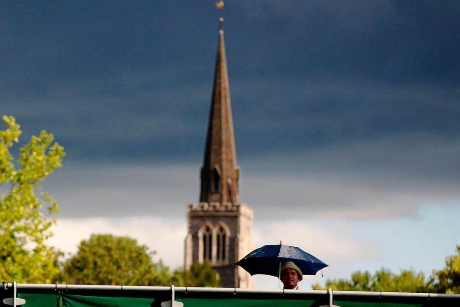 Wimbledon: das Schönste vom Grün (Foto: dpa)