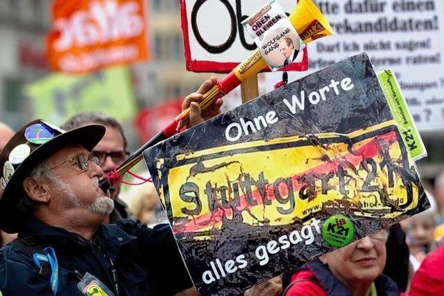 Stuttgart-21-Gegner räumen Gewalt ein – und distanzieren sich davon