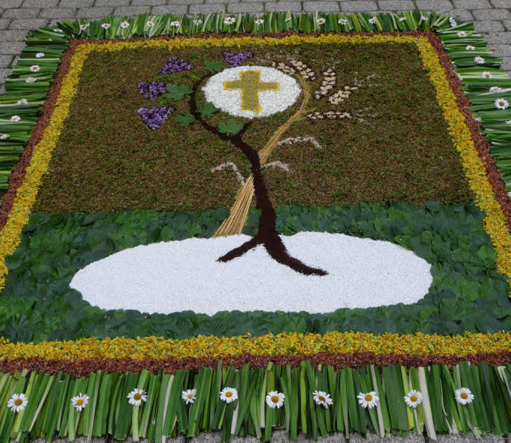 Drei Teppiche aus Blüten  Eisenbach (Hochsch