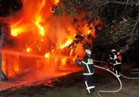 Fotos: Der Brand im Kindergarten St. Peter und Paul