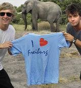Freiburger T-Shirt auf Weltreise