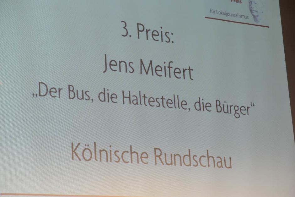 Dahrendorf-Preis in Freiburg verliehen (Foto: Ingo Schneider)