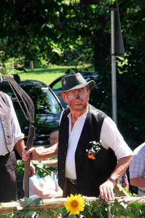 Mehr als 1000 Trachtentr�ger pr�sentierten sich am Sonntag beim Kreistrachtenfest in M�nstertal.