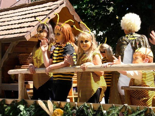 Mehr als 1000 Trachtenträger präsentierten sich am Sonntag beim Kreistrachtenfest in Münstertal.