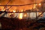 Fotos: Großbrand auf dem Scherpeterhof in Eschbach