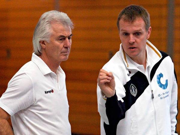6. März 2008: DHB-Trainingslager der Junioren zusammen mit Wolfgang Sommerfeld