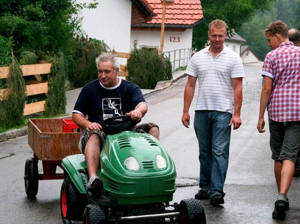 Impressionen vom Dorffest in R��wihl.