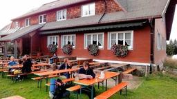 Berggasthof St�benwasen: Es begann 1935 mit einer Schutzh�tte