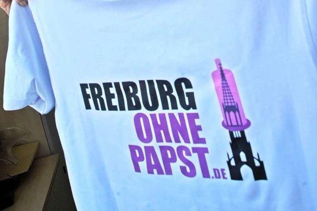 Warum Papstgegner den Pontifex nicht in Freiburg sehen wollen