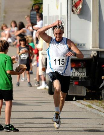 Der Sommerlauf und das Sommerfest der DJK Oberschopfheim