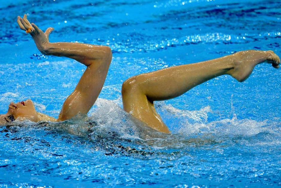 Natalia Ishchenko aus Russland (Foto: AFP)