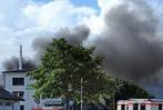 Fotos: Brand in den Gutta-Werken in Schutterwald