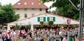 Die Stadtmusik eröffnete das 28. Schlossfest.