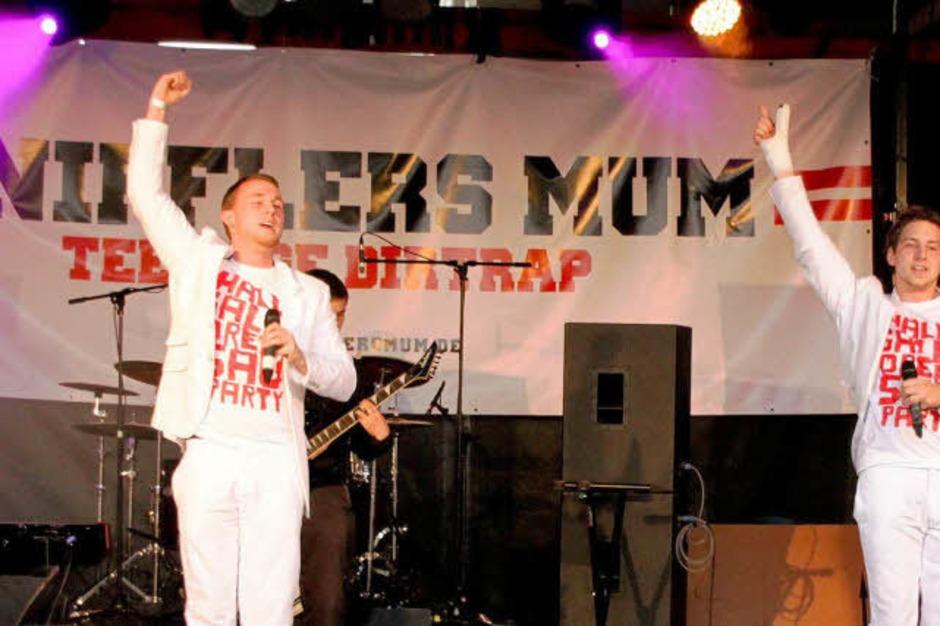 Auch wenn HipHop nicht jeden anspricht: Kniffler's Mum überzeugte das ganze Publikum. (Foto: Eileen Woestmann)
