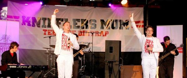 Auch wenn HipHop nicht jeden anspricht: Kniffler's Mum überzeugte das ganze Publikum.