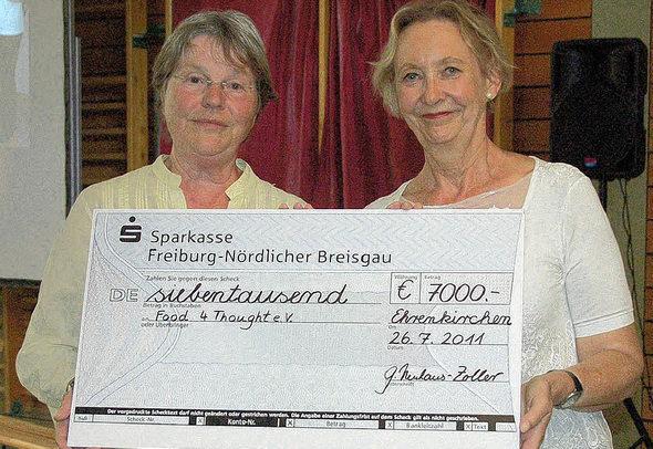 Ehrenkirchen 7000 euro f r s dafrika badische for Cuisine 7000 euros