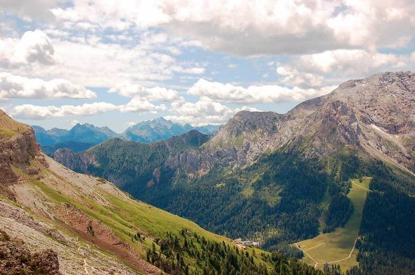 Die Natur hat's gut gemeint mit der Region Eggental: Liebliche Wiesen, schroffe Felsen, Kräuter, Pflanzen - das ist Südtirol.