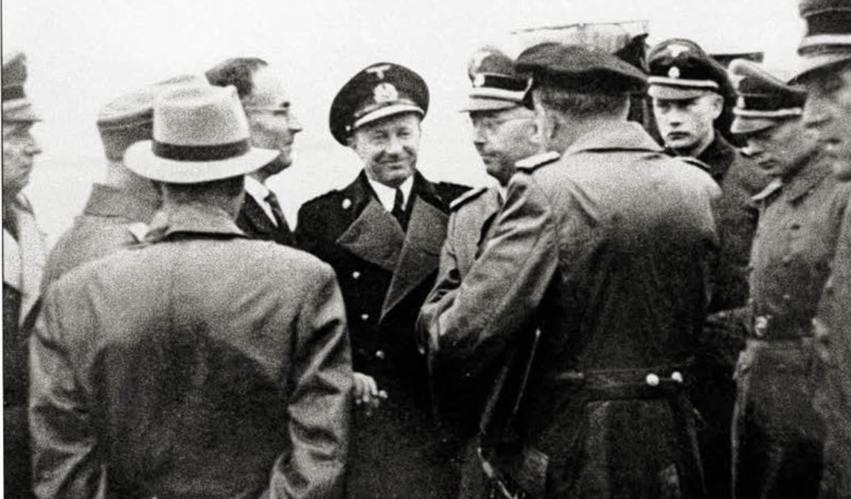 Wankel in Lindau im Gespräch mit Himmler, dem Reichsführer SS  | Foto: BZ