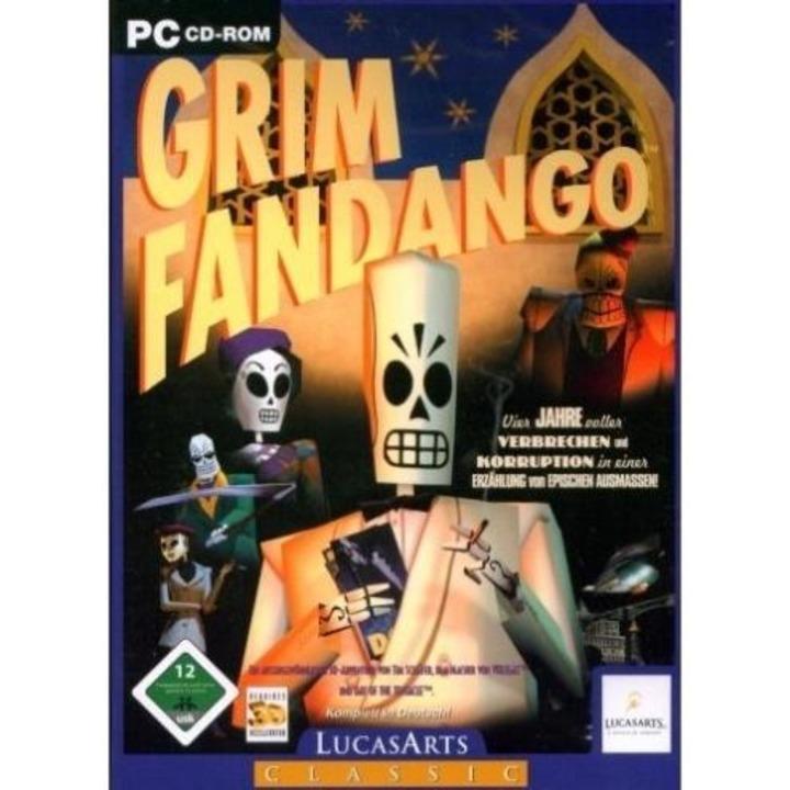 Platz 15: Grim Fandango - Platz 15: Gr...eln in einem fantastischen Grafikstil.