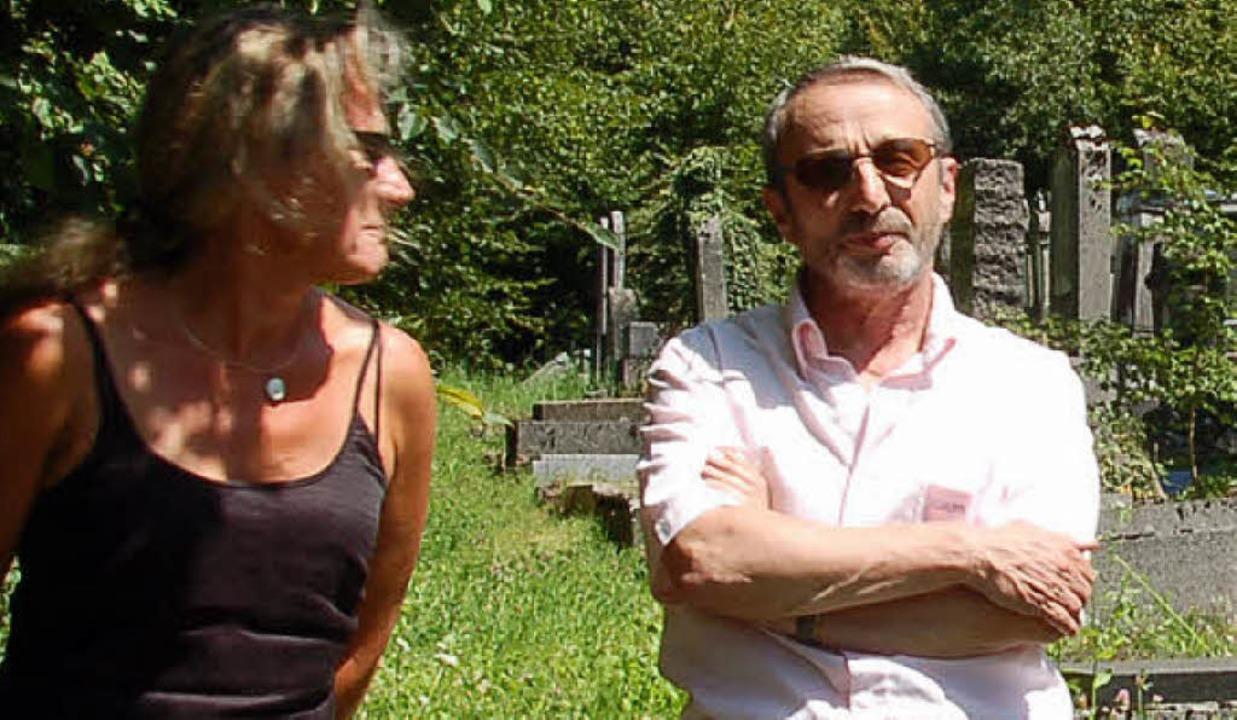 Sabine Drexler und Jean Bloch  | Foto: Annette Mahro