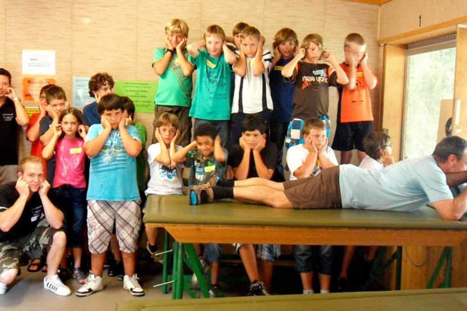Der Altdorfer Schützenverein lud im Rahmen des Ettenheimer Ferienprogramms zum Treffpunkt Schützenverein ein.  18  Jugendliche  nahmen daran teil. (Foto: Privat)