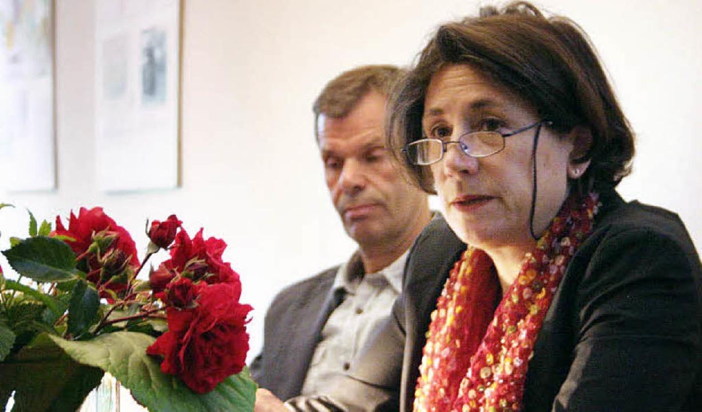 Die Islamwissenschaftlerin und Autorin...r im Blauen Haus in Breisach zu Gast.     Foto: bianka pscheidl
