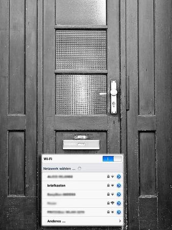 """""""Briefkasten"""" in der Carl-Kistner-Straße"""