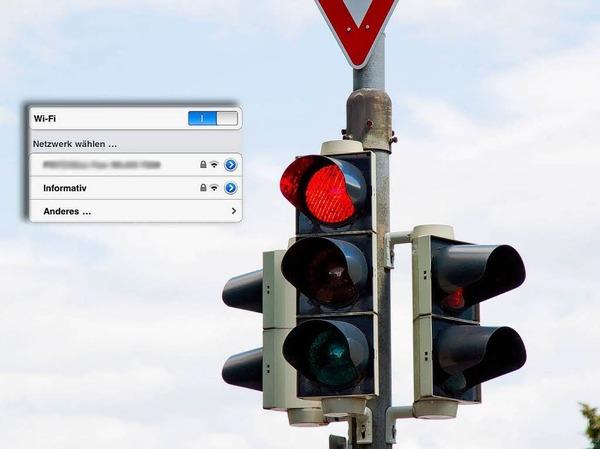 """""""Informativ"""" in der Lehener Straße"""
