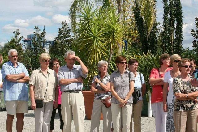 Fotos: BZ-Ferienaktion in der Europa-Park-Gärtnerei