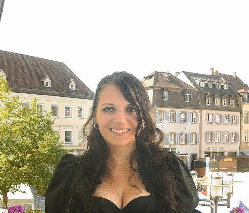 Neue Breisgauer Weinprinzessin: Elvira Strecker     Foto: Anna Schughart