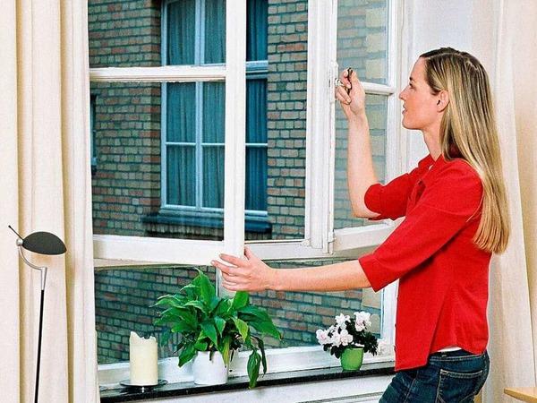 Lüften:    Nur in kühlen Morgenstunden  oder spät abends, wenn frischer Wind weht. Tagsüber sollten   Fenster und Türen zu bleiben.